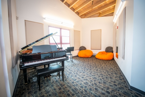 Lyman Piano Practice Room
