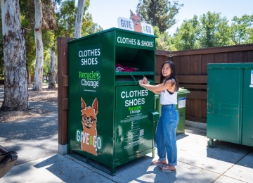 Recycle for Change Collection Box