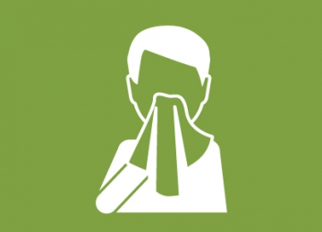 icon of covering cough
