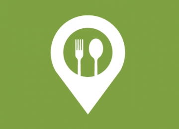 icon of food location