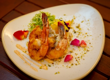 East and West Indies curry shrimp