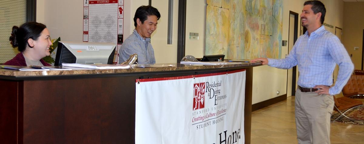 Munger Graduate Residence Housing Front Desk