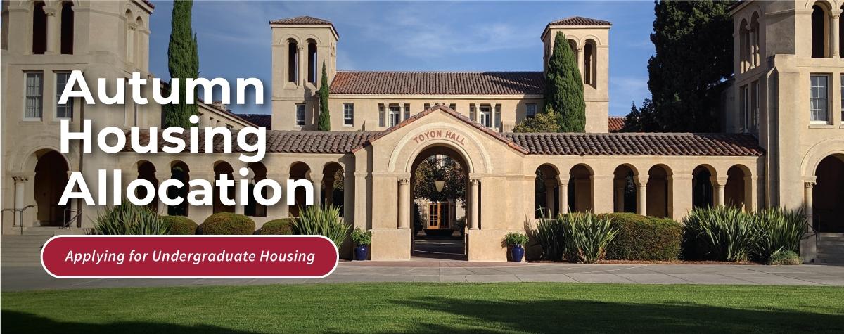 Autumn Housing Allocation - SH