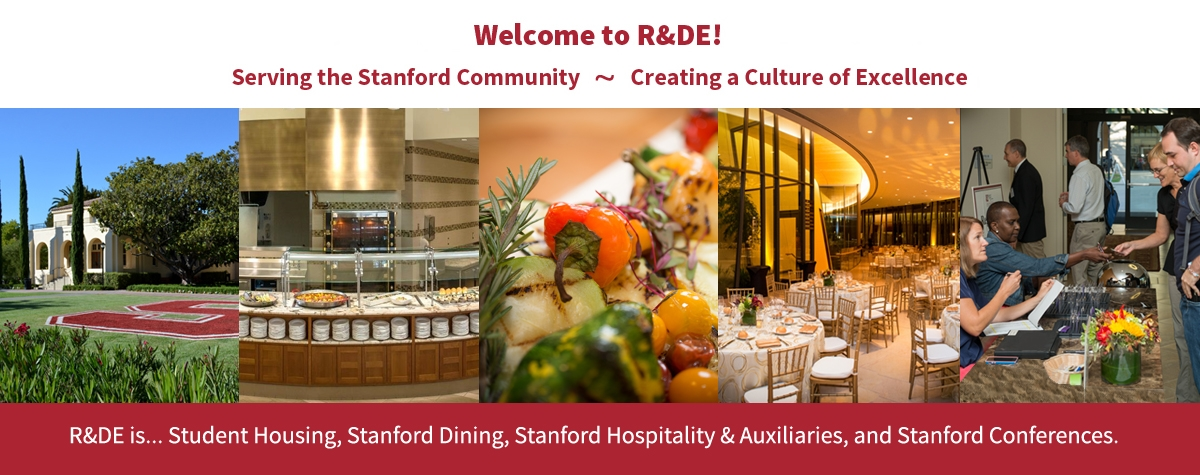 R&DE welcomes you to Stanford