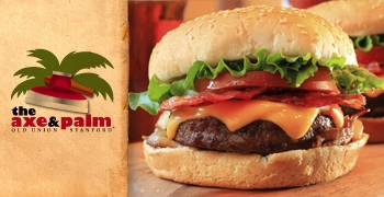 The Axe & Palm burger